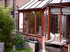 Neighbours view cleaning windows