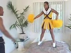 Fat black cheerleader hardcore sex