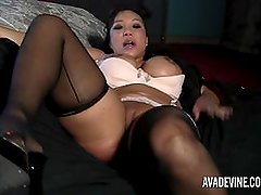Ava Devine in violated by burglar