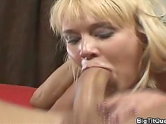 Carly Parker Gives A Blowjob and Titjob