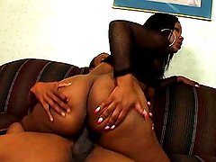 Ebony big ass naughty anal fuck