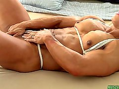 Alicia Alfaro Playing With Her pussy
