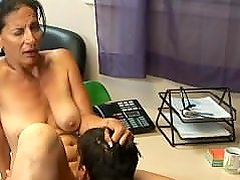 Sexy mature getting nuts.