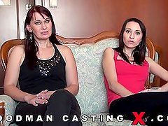 Sladky Mesic(and her mom) - Woodman Casting[full version]
