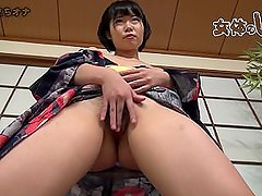 JAVGALAXY.COM - Petite Japanese MILF Playing With Hairy Pussy