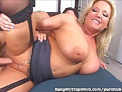 Busty Wife Cheats With Stepson
