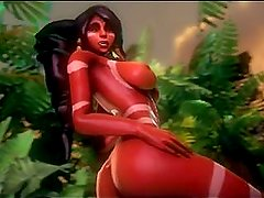 Nidalee 3D hentai game (Lol) League of Legends