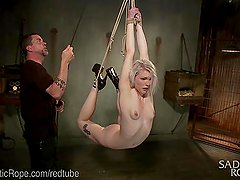 Blonde Begs For Extreme Bondage