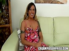 Creampie Surprise - Fiona Cheeks