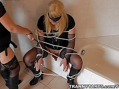 Mistress fucks Crossdressers and Transvestites