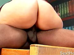 Great Ass Sara Jay Fucking Black Cock