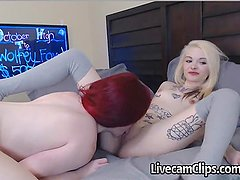 Hot Cam Girls Amateur Blonde And Redhead Lesbo Sex!