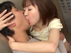 Japonesas - Asian Babe With An Amazing Ass Gags On A Tiff Cock