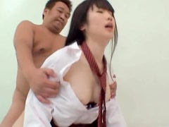 Japanese Teen Getting Drilled In Her Sexy School Uniform