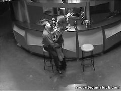 Security Camera At A Bar Film A Hard Fuck