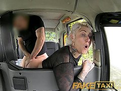 FakeTaxi Tattooed lady loves dirty anal sex