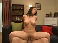 Cunt and ass of Elena Heiress is drilled deep by the massive smoking cock