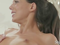 Babes - Spa Day, Threesome with stepmom