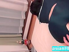 Amateur japanese the first time anal play