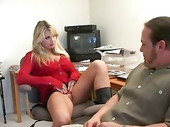 Vicky Vette bets that she can make this cock cum and wins with style