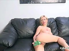 Blonde with Big Tits and Amazing Ass