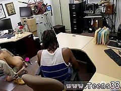 Blonde brunette strap on Fucking Your Girl In My PawnShop