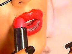 delia rose sexy red lipstick (2)
