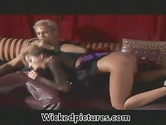 Jadra Holly takes every inch of a thick hard dick