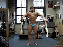 Young Rusian BB gym Pt 2