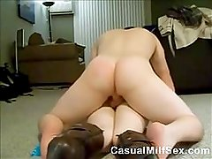 CasualMilfSex - Booty Milf Screaming While Getting Anal On Homemade