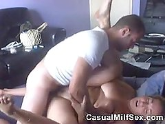 CasualMilfSex - Rough Homemade Fuck