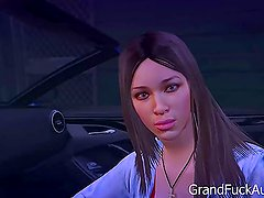 GTA 5 First Person - PICKING UP A PROSTITUTE