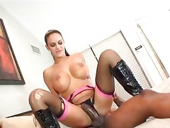 Angelina Valentine takes cock up her tight little asshole like a champ