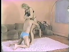Shelly mixed wrestling