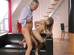 Gina Gerson Fucks Old Guy
