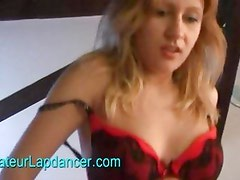 Beautiful czech girl lapdances