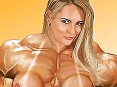 Musclexx female muscle morph compilation