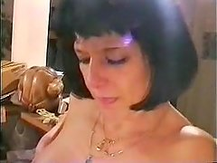 French Mom Waits Her Son's Cock