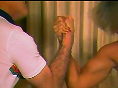 Deedee vs Tom hard mixed armwrestling