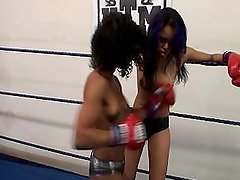 Misty Stone vs Annie Cruz Pt.2 (Misty Wins)