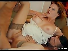 Hard DP with 2 strangers for my wife Tarra White