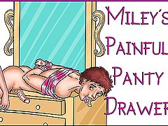 Miley's Painful Panty Drawer