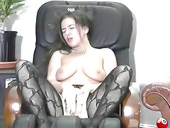 Big titted Girl fingers herself to orgasm