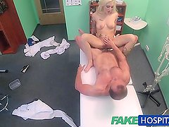 Fake Hospital Tattooed Blonde Loves Doctors Dick