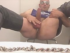 Big Uncut Cock Showing Ass And Cum