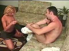 Hot Teen Tranny Takes Care Of Boyfriend