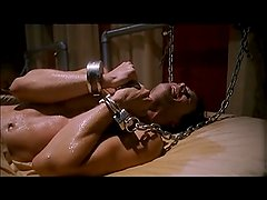 Playroom [2012] Chained men make small talk