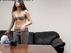Young Brunette's Casting