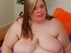 Bbw Blonde With Huge Tits Gets P...