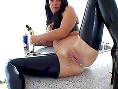 Extreme sexy milf amateur housewife kinky messy ass fetish